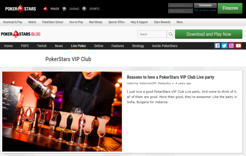 Club VIP PokerStars